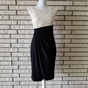 Connected apparel  Lace bust dress size 6